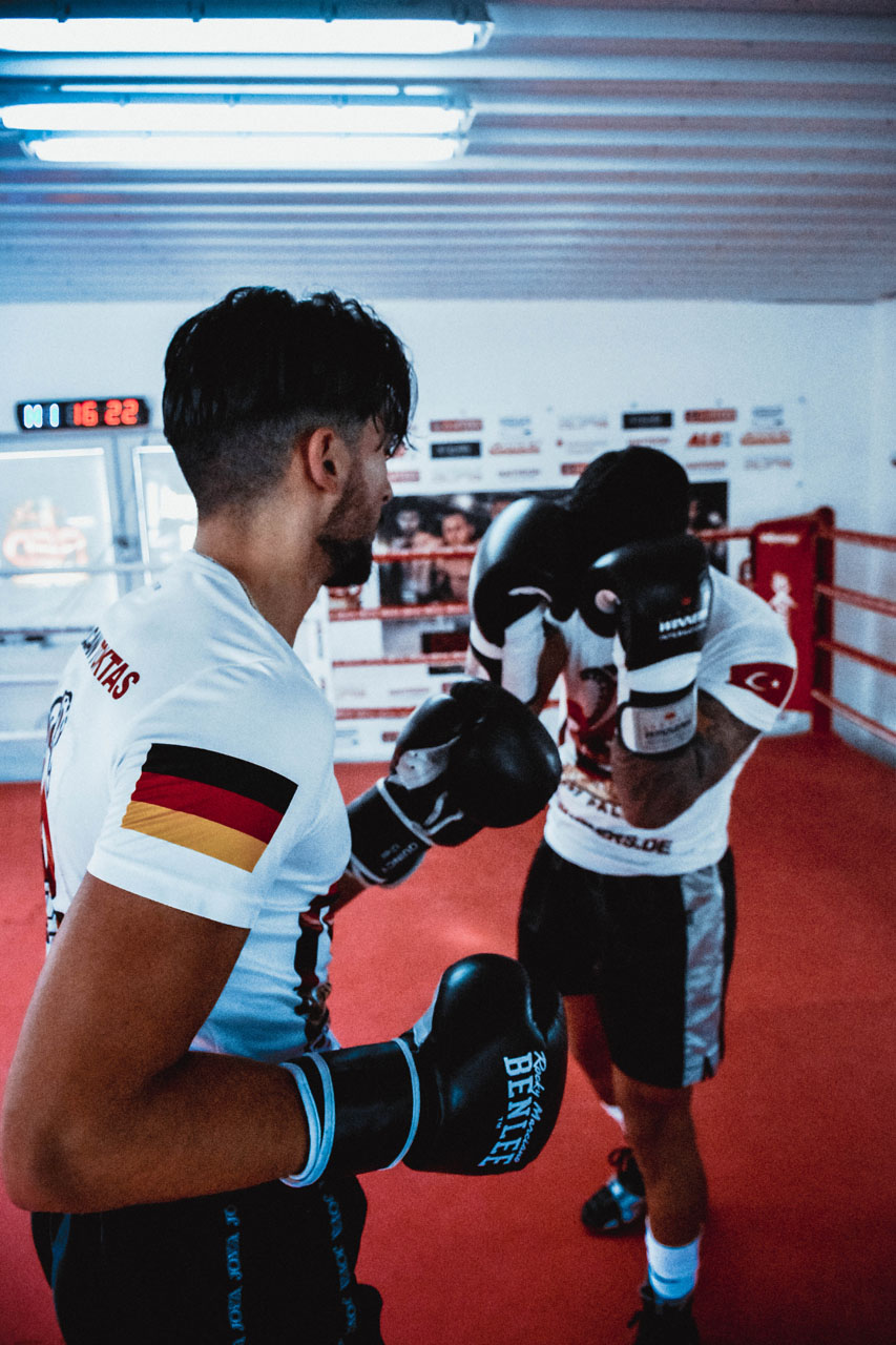 Sparring bei RedPanthers Wuppertal