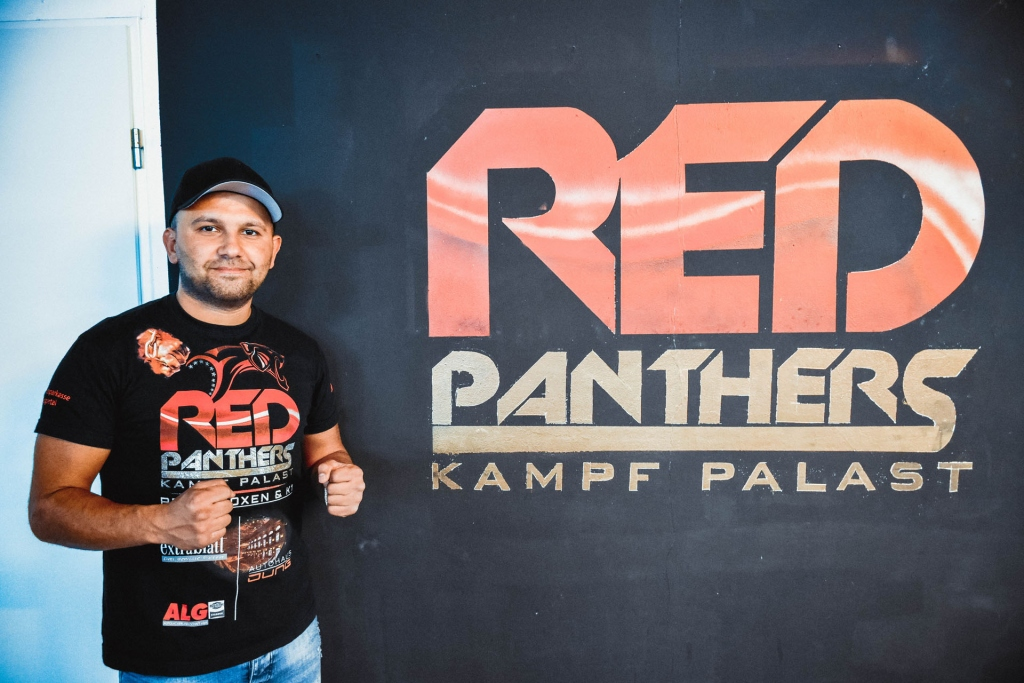 Mustafa Erol RedPanthers Logo